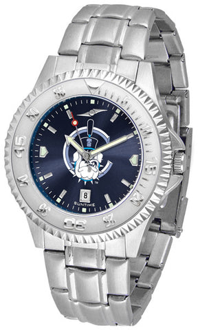 Mens Citadel Bulldogs - Competitor Steel AnoChrome Watch