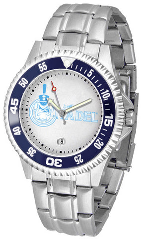 Mens Citadel Bulldogs - Competitor Steel Watch