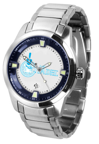 Mens Citadel Bulldogs - Titan Steel Watch