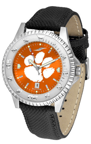 Clemson Tigers Men  Competitor Watch With AnoChome Dial