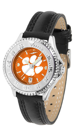 Clemson Tigers Ladies Competitor Watch With AnoChome Dial