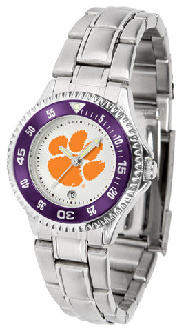 Clemson Tigers Competitor Steel Ladies Watch