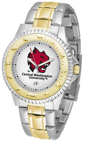 Mens Central Washington Wildcats - Competitor Two Tone Watch