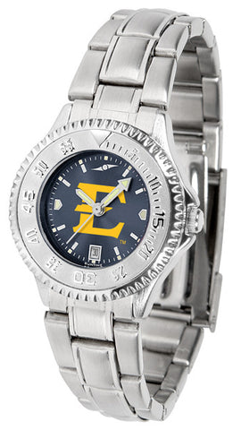 Ladies East Tennessee State Buccaneers - Competitor Steel AnoChrome Watch