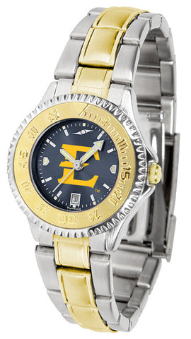 Ladies East Tennessee State Buccaneers - Competitor Two Tone AnoChrome Watch