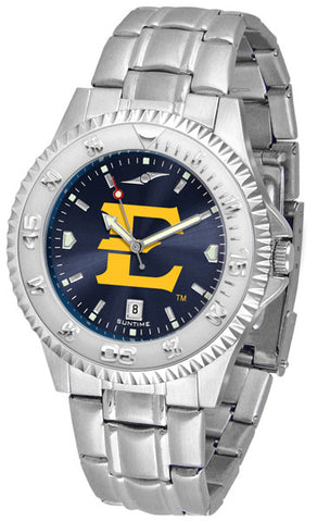Mens East Tennessee State Buccaneers - Competitor Steel AnoChrome Watch