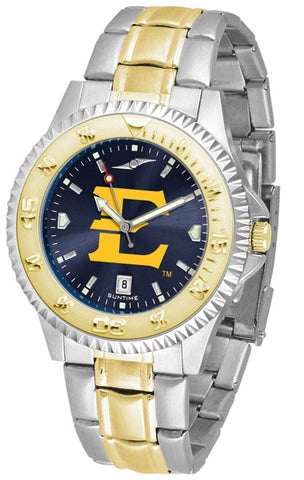 Mens East Tennessee State Buccaneers - Competitor Two Tone AnoChrome Watch