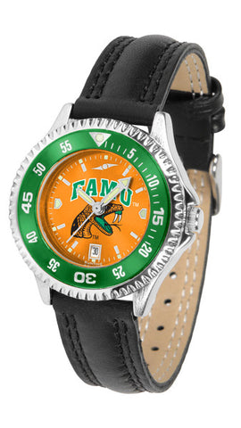 Ladies Florida A&M Rattlers - Competitor AnoChrome Watch - Color Bezel