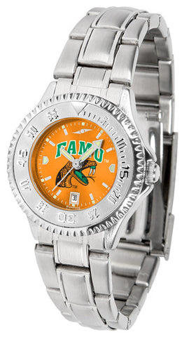 Ladies Florida A&M Rattlers - Competitor Steel AnoChrome Watch