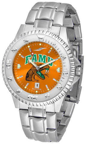 Mens Florida A&M Rattlers - Competitor Steel AnoChrome Watch