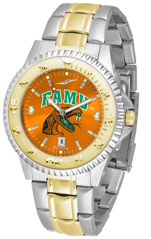 Mens Florida A&M Rattlers - Competitor Two Tone AnoChrome Watch