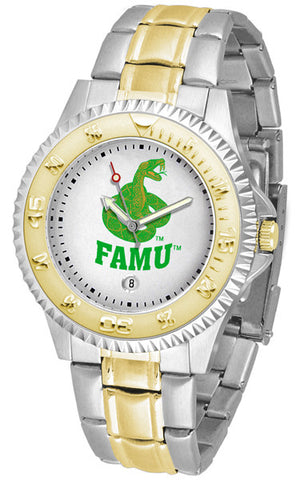 Mens Florida A&M Rattlers - Competitor Two Tone Watch