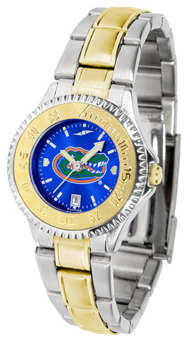 Florida Gators  Ladies Competitor Two-Tone Watch With Anochrome Dial