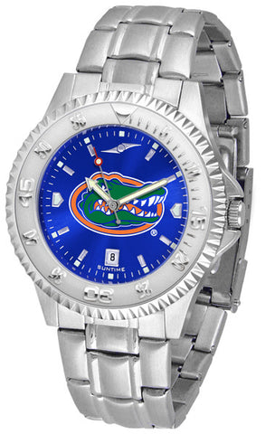 Florida Gators Men Competitor Steel Watch With AnoChome Dial