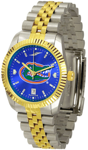 Florida Gators Men's Executive Watch With Blue Dial
