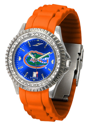 Florida Gators Sparkle Watch With Color Band