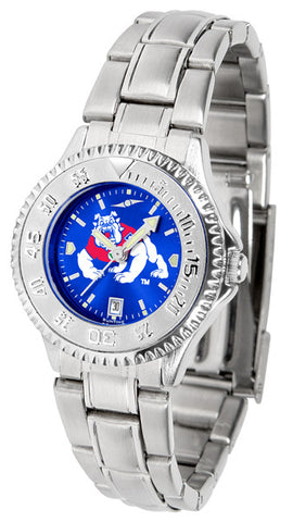 Ladies Fresno State Bulldogs - Competitor Steel AnoChrome Watch