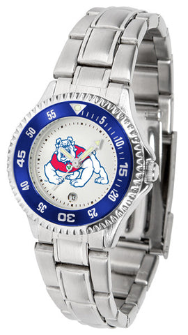 Ladies Fresno State Bulldogs - Competitor Steel Watch