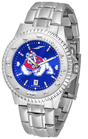 Mens Fresno State Bulldogs - Competitor Steel AnoChrome Watch