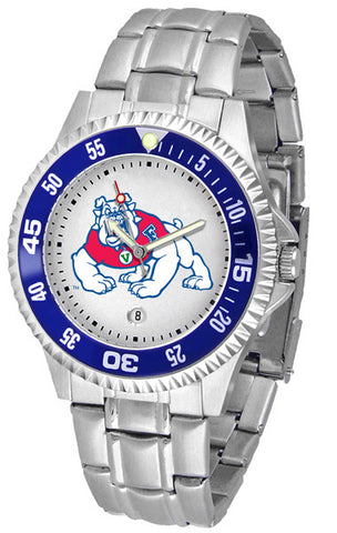 Mens Fresno State Bulldogs - Competitor Steel Watch