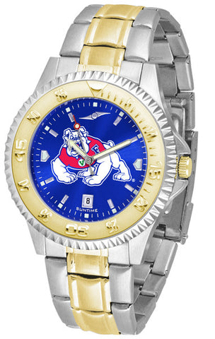 Mens Fresno State Bulldogs - Competitor Two Tone AnoChrome Watch