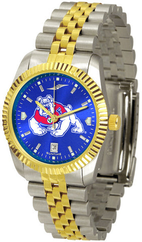 Mens Fresno State Bulldogs - Executive AnoChrome Watch