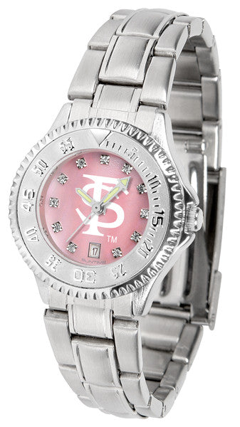 Florida State Seminoles Ladies Competitor Steel Watch With Mother Of Pearl Dial