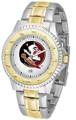 Florida State Seminoles Men's Competitor Two-Tone Watch