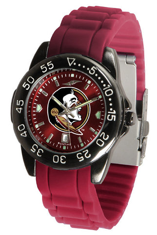 Florida State Seminoles Fantom Sport AC Watch With Color Band