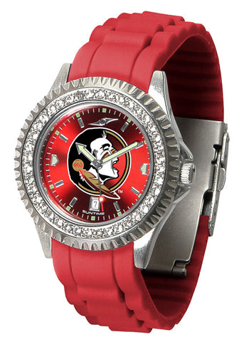 Florida State Seminoles Sparkle Watch With Color Band