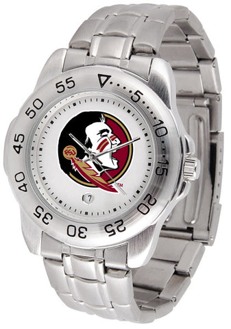 Florida State Seminoles Men Sport Steel Watch