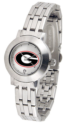 Georgia Bulldogs Ladies Dynasty Watch With White Dial