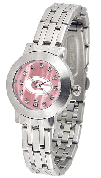 Georgia Bulldogs  Ladies Dynasty Watch With Mother Of Pearl Dial