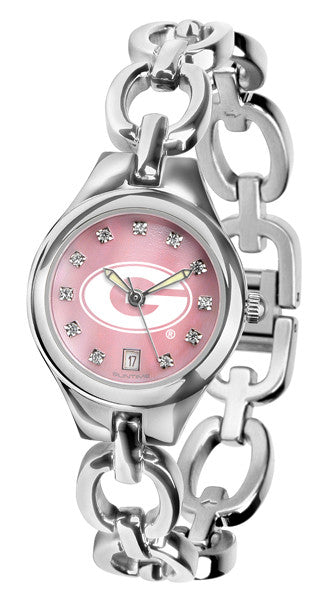 Georgia Bulldogs Ladies Eclipse Watch With Mother Of Pearl Dial