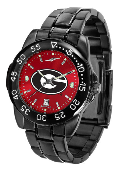 Georgia Bulldogs Fantom Sport Watch Men With Red Dial