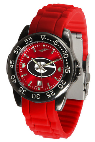 Georgia Bulldogs Fantom Sport AC Watch With Color Band