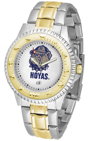 Mens Georgetown Hoyas - Competitor Two Tone Watch