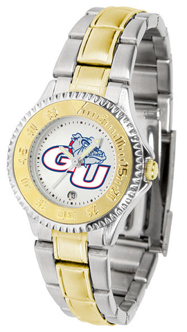 Ladies Gonzaga Bulldogs - Competitor Two Tone Watch