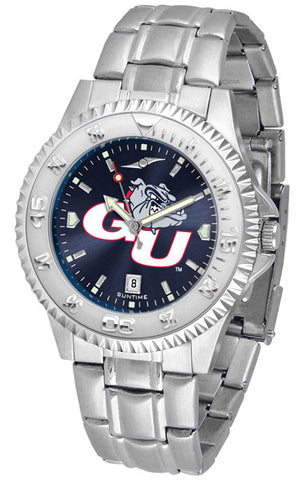 Mens Gonzaga Bulldogs - Competitor Steel AnoChrome Watch