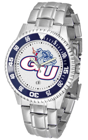 Mens Gonzaga Bulldogs - Competitor Steel Watch