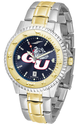 Mens Gonzaga Bulldogs - Competitor Two Tone AnoChrome Watch