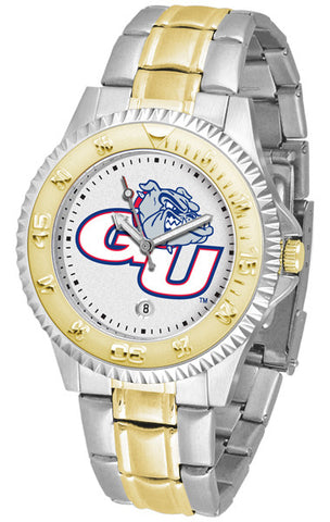 Mens Gonzaga Bulldogs - Competitor Two Tone Watch