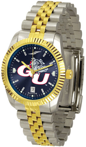 Mens Gonzaga Bulldogs - Executive AnoChrome Watch