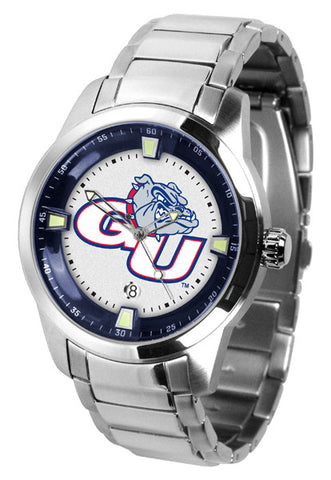 Mens Gonzaga Bulldogs - Titan Steel Watch