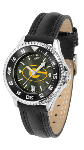 Ladies Grambling State University Tigers - Competitor AnoChrome Watch - Color Bezel