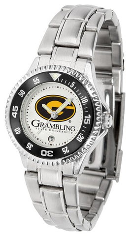 Ladies Grambling State University Tigers - Competitor Steel Watch