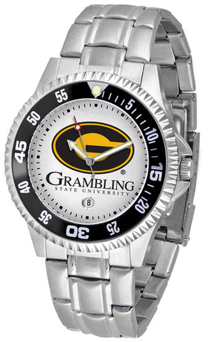 Mens Grambling State University Tigers - Competitor Steel Watch