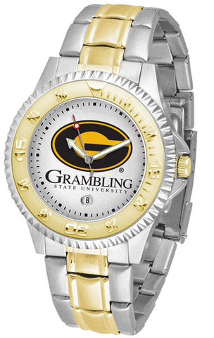 Mens Grambling State University Tigers - Competitor Two Tone Watch