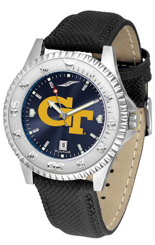 Mens Georgia Tech Yellow Jackets - Competitor AnoChrome Watch