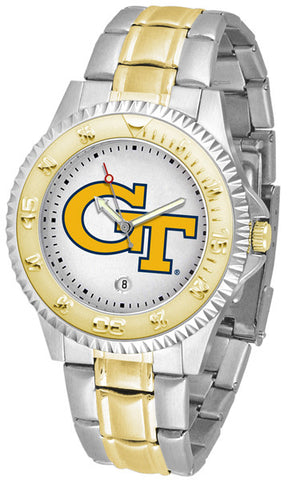 Mens Georgia Tech Yellow Jackets - Competitor Two Tone Watch